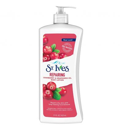 St.Ives Repairing Cranberry & Grapeseed oil Body Lotion 621ml