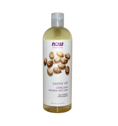 Now Foods Solutions Castor Oil 473 ml