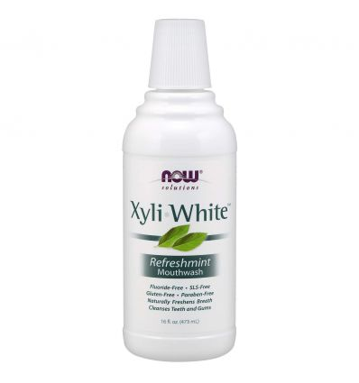 NOW SOLUTIONS XyliWhite™ Refreshmint Mouthwash 473ML