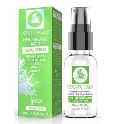 OZ Naturals Hyaluronic Acid Facial Serum, 30ml