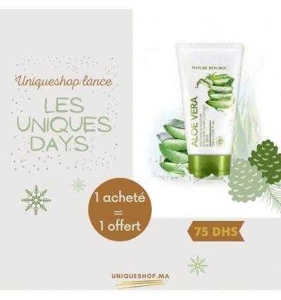 PROMO HAPPY UNIQUE DAYS Nature Republic Foam Cleanser (2 au prix de 1)