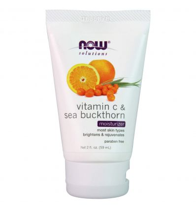 NOW Solutions, Vitamin C and Sea Buckthorn Moisturizer 59ml