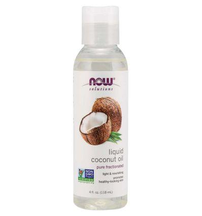 Now Solutions Liquid Coconut Oil 118ml
