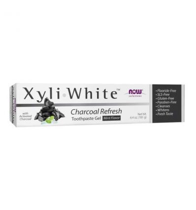NOW SOLUTIONS Xyliwhite CHARCOAL REFRESH Tree Toothpaste 181g